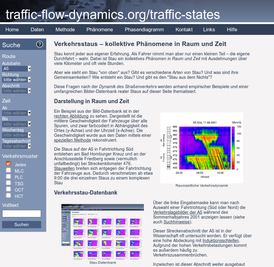 traffic-states website
